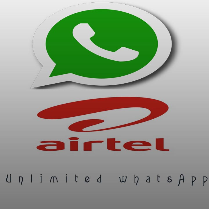 Unlimited acces to what's app airtel.