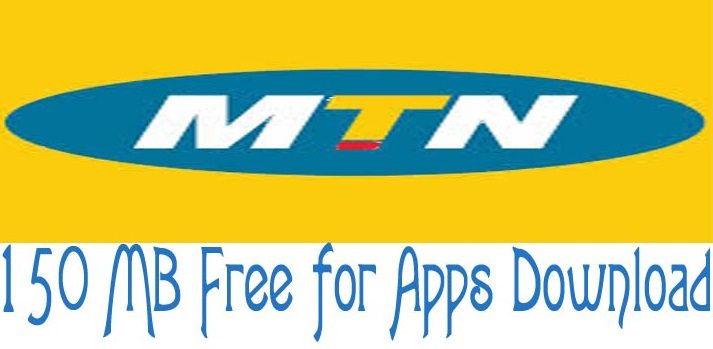 150MB free to download Apps From MTN.