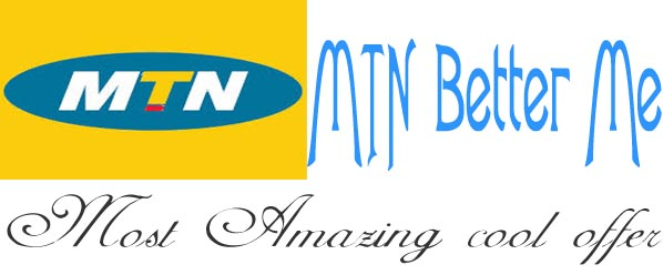Better Me MTN Amazing Offer get 2G Data for 2015 Naira.