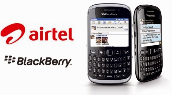 Blackberry Plans to work any device by Airtel
