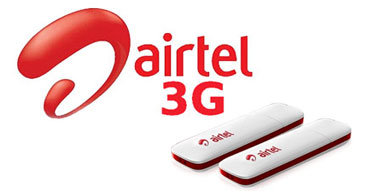 Airtel Dongle/Mifi/Routers Data Plans.