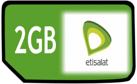 How to get 2GB data for 2,000 Naira from Etisalat NG