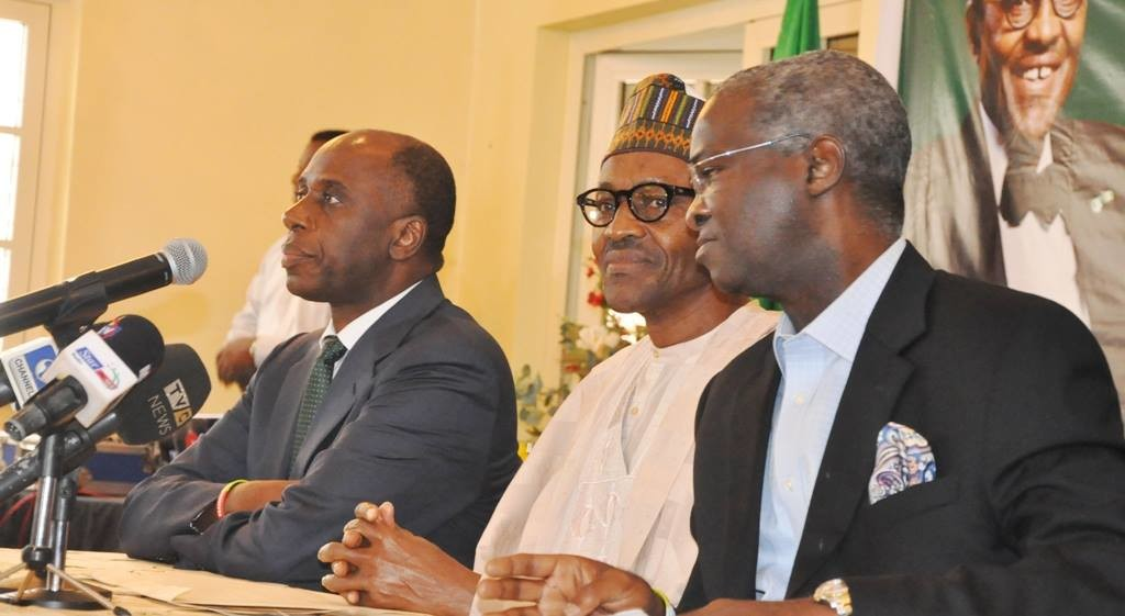 Ameachi buhari and fashola
