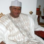 How Abubakar Audu of Kogi Vomits Blood before he died.