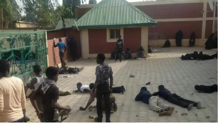 Video: Nigerian Army killed 7 at Islamic Center before we block them from returning for 2nd Massacre.