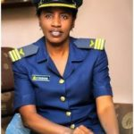 PHOTO: Hajara First Hausa Muslim female wing commander.