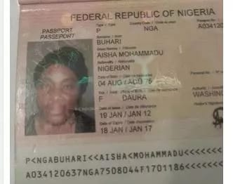 Fake Mrs Buhari revealed! See photo.