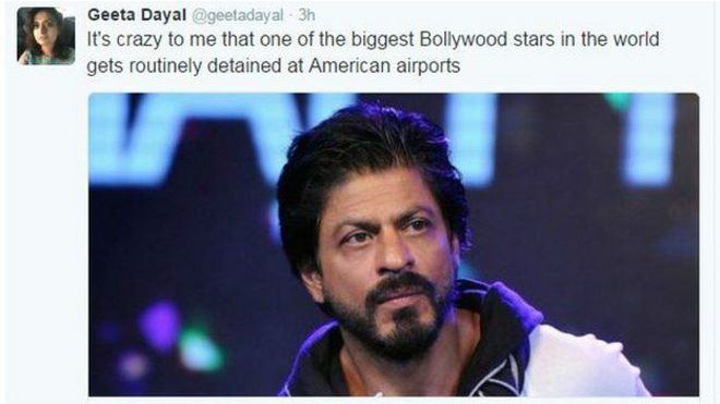 Shah Rukh Khan has been Arrested in the US: