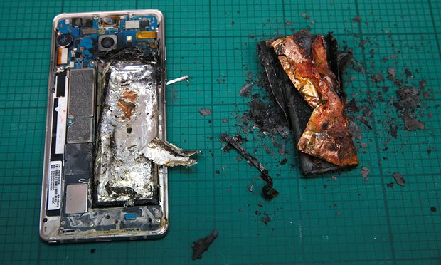 Note 7 Under Fire:Samsung to Halt the production of Note 7.